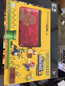 Nintendo 3ds Xl Limited Edition New Super Mario Bros 2 Gold