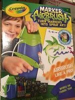 Crayola Marker Airbrush 04-8727. Art Kids Craft Tshirts Paper