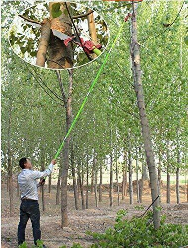 INTBUYING 26 Feet Tree Pole Pruner Tree Saw Garden Tools Outdoor Lopper