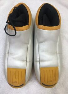 d804d0e93753 Adidas Kobe Two 2 II Pearl White Vintage Space Moon Boots Size Sz 11 ...
