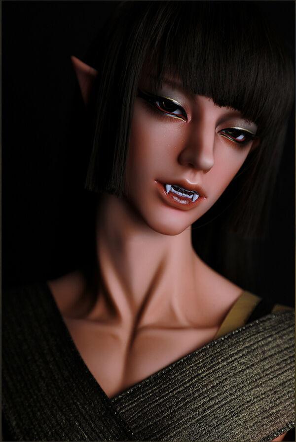 Idealian 75 cm cuerpo el faraón Narmer (vampiro cabeza) con los ojos + Reemplazo
