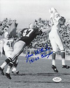 1961-62-PACKERS-Jesse-Whittenton-signed-photo-8x10-JSA-AUTO-Autographed-D