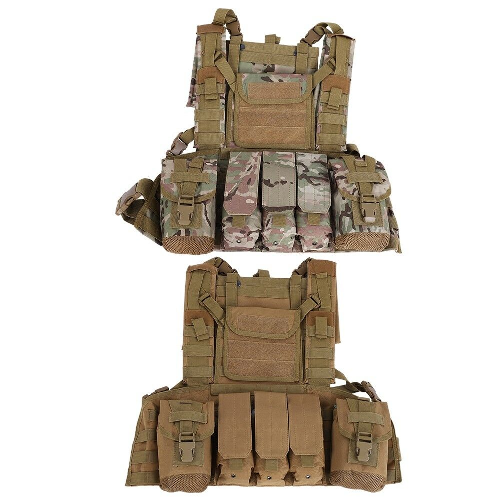 Combat Game  CS Tactical Hydration Chest Rig Magazine Modular MOLLE PALS Vest  ZH  online retailers