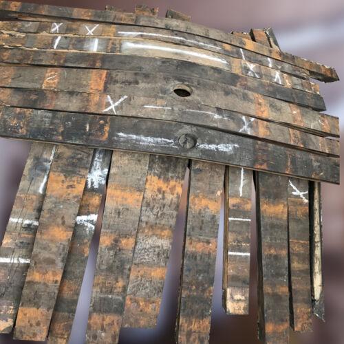Extra larga de madera Barril De Roble Rústico Whisky fuentes de madera de carpintería Bordones