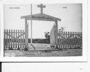 1945-WWII-US-Okinawa-Photo-International-Cemetery