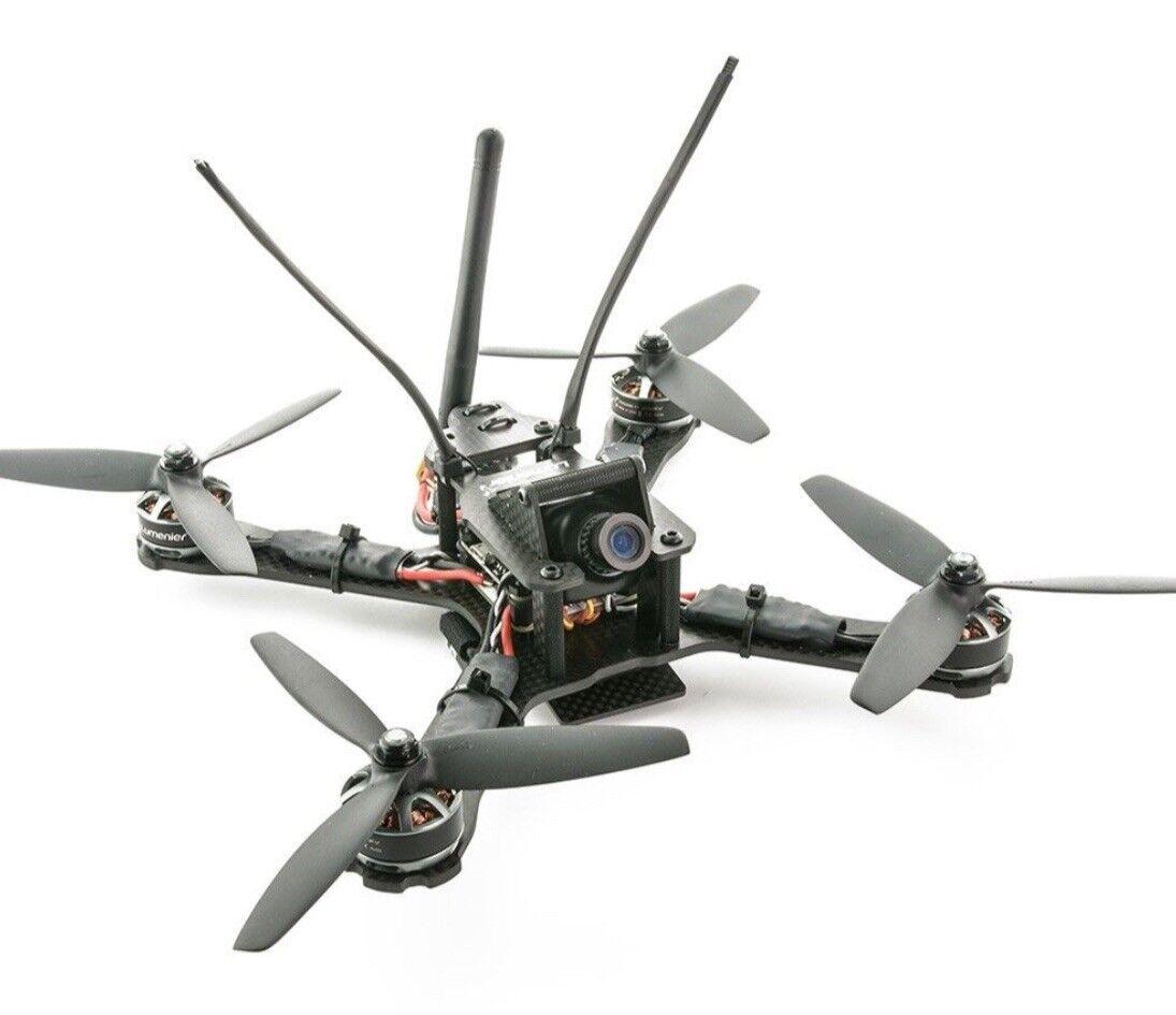 Lumenier QAV-Charpu Edition 3mm de fibra de carbono X FPV RACING Cuadricóptero 6126