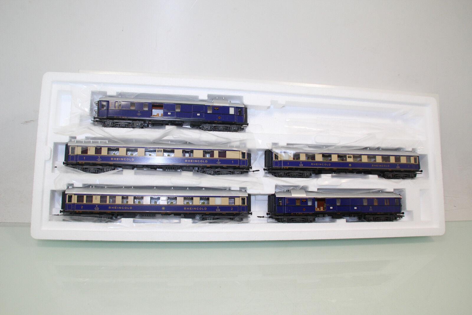 Märklin h0 42283 vagoni-Set 5tlg.  Rheinoro  della DRG ben tenuto in scatola originale (sl6068)