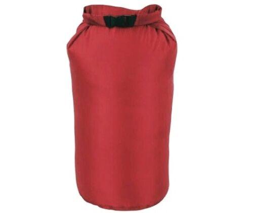 HUGE 40 Ltr LIGHTWEIGHT DRY SACK Red waterproof bag Sailing regatta roll /& clip