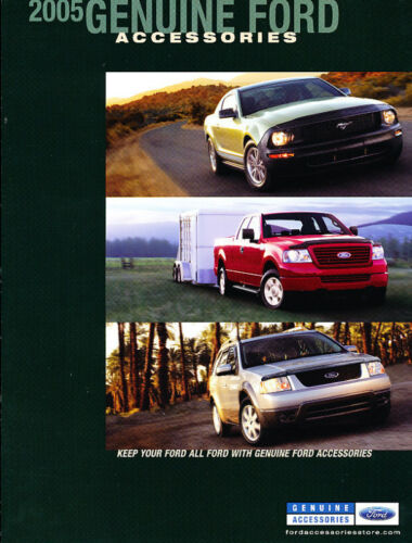 Mustang GT F-150 Truck Freestyle 2005 Ford Car Accessories Brochure Catalog