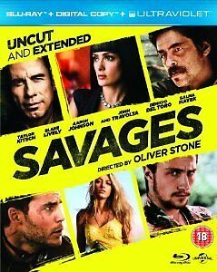 Savages-Bluray-Oliver-Stone-Film-Travolta-Del-Toro-Hayek-Brand-New-Sealed