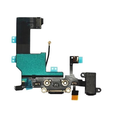 iPhone 5C Replacement Charging Port with Mic + Headphone Audio Jack Part