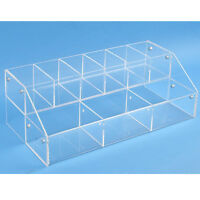 Acrylic Countertop Tiered Display - Makeup Acrylic Organizer - Oils Display
