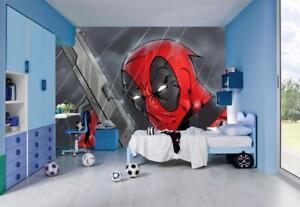 Photo Wallpaper Wall Mural Woven Self-Adhesive Art Deadpool Super Hero M18