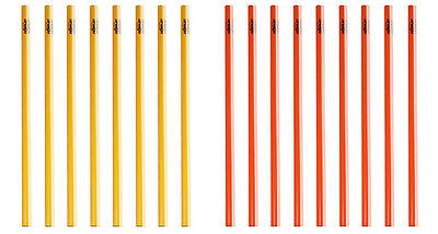 athletikor Trainingsstangen/_Slalomstangen/_H/ürdenstangen 1 Meter in rot oder gelb