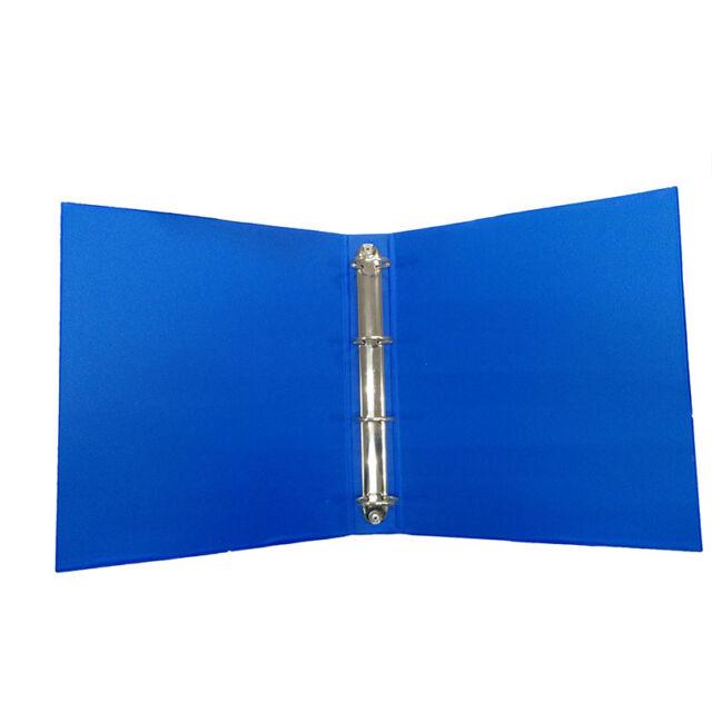 1x Sales Display Presentation Folder Blue 4 Ring A4 Size 37mm/300 Sheet Capacity