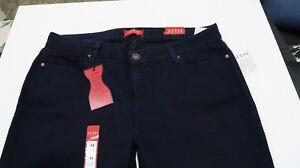 Jeans Skinny Rise Sienna Risciacquo Medium colore Guess Nwt blu Curvy xXdqwSAF
