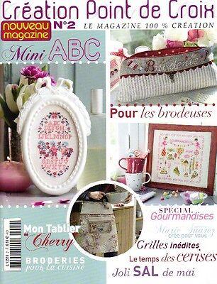 French cross stitch magazine Creation point de croix No.2 | eBay