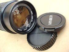 Minolta MD F3.5 135mm Telephoto Zoom Lens X370 X570 X700 XGM XD XG1 XG9 XGA XE