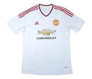 Manchester United 2015-16 ORIGINALE AWAY SHIRT (eccellente) L soccer jersey