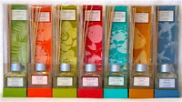 Aroma-mix® Reed Oil Diffuser Sets 7 Fragrances Air Freshener Bonus Reeds Scented
