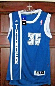 best service 0cfea 5dc10 Details about KEVIN DURANT OKLAHOMA CITY THUNDER Swingman Authentic NBA  Throwback Jersey S NWT