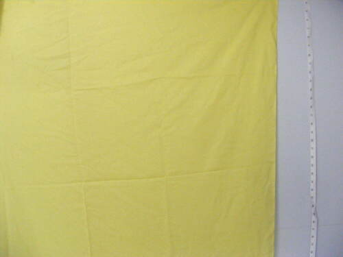 """Cheater Quilt Fabric By The Yard,42/"""" wide,/""""Solid Color-Yellow/"""",100/% Cotton"""