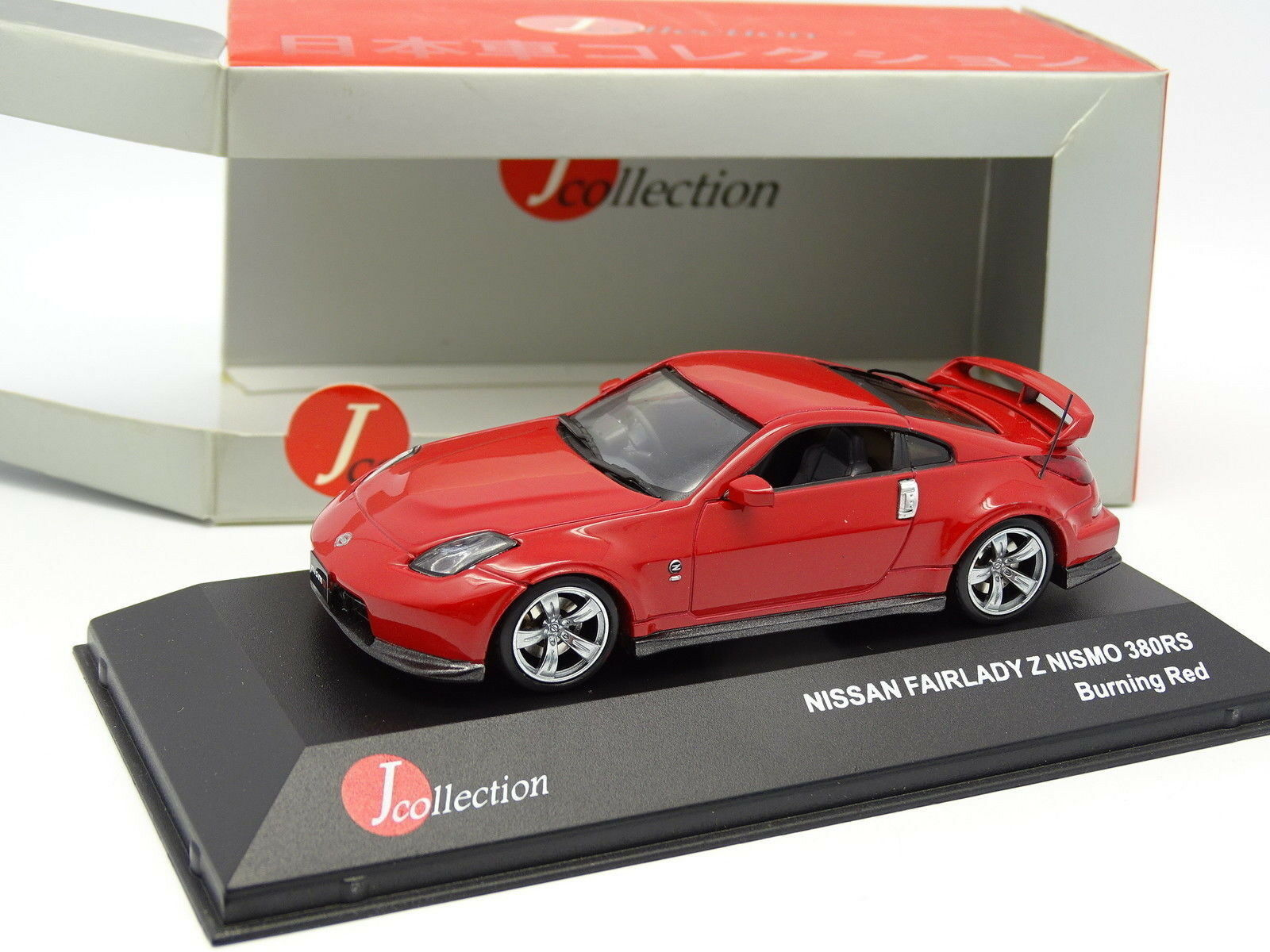 negozio online J Collection 1 43 - Nissan Nissan Nissan Fairlady Z Nismo 380 Rs Burning Rosso  promozioni di squadra