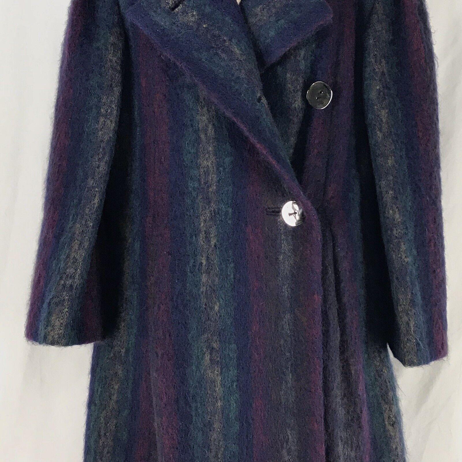 Vintage 1980s Pauline Trigere Mohair Designer Coa… - image 4