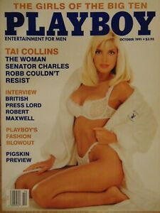 Playboy-October-1991-Cheryl-Bachman-Tai-Collins-Girls-of-the-Big-10-1111