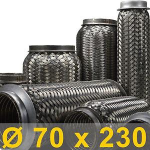 *Tuyau flexible d/'échappement universel Ø 65 x 200 longueur mm