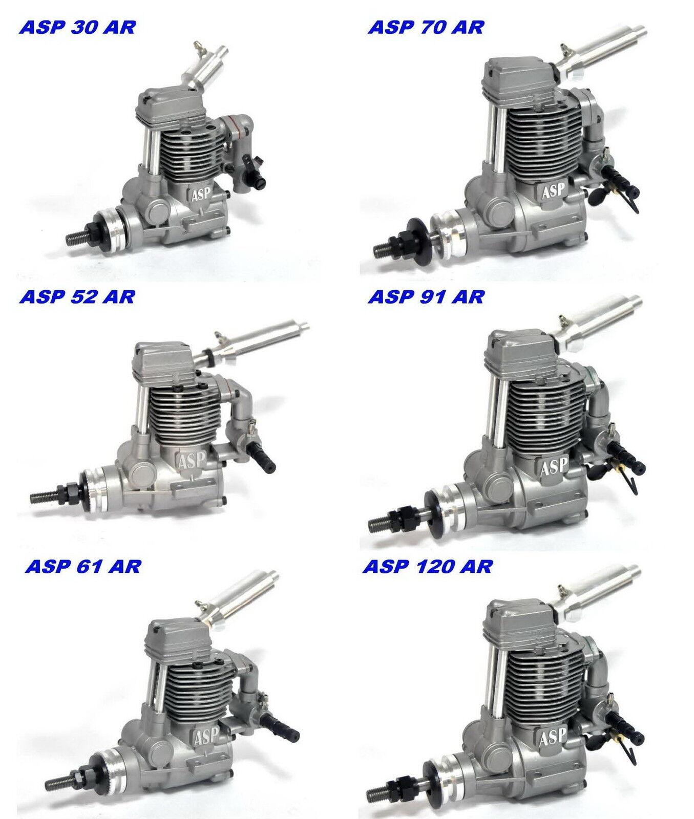 Asp. 30 . 120 ccm motor 4 - takt - flugzeug mit schal
