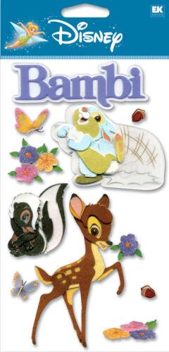 DISNEY Bambi /& Bunny 3D Stickers by EK Success New