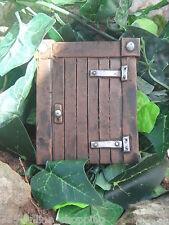 """NEW LARGE 6"""" MINI HOBBIT FAIRY GARDEN DOOR ELF TREE DECORATION GARDEN ORNAMENT"""