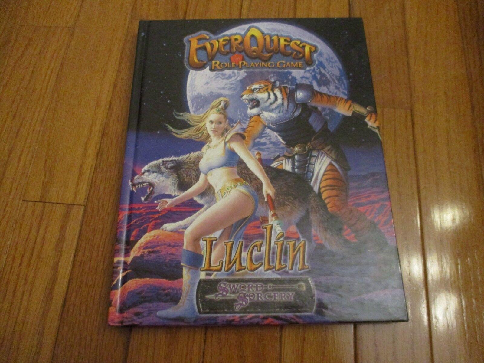 Sword & Sorcery Everquest RPG Luclin HC