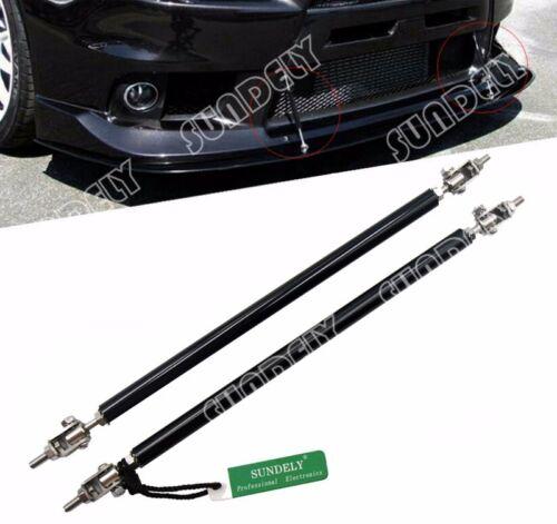 Fits Front Rear Wind Splitter Rod Support Bumper Stabalizer Lengh 9.7-13.2Inch