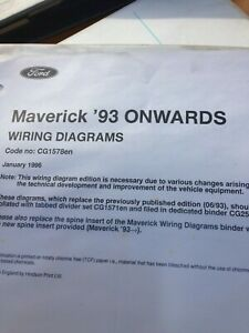 Details about FORD MAVERICK 1993 Onwards - ORIGINAL FACTORY WIRING on