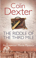 The Riddle of the Third Mile, Colin Dexter, Book, New Paperback