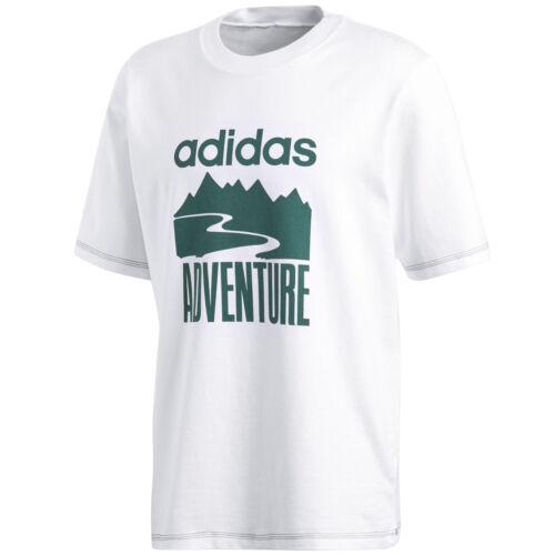 Adidas Originals Adventure Tee Men/'s Shirt T-Shirt Leisure Cotton Retro