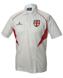 Image is loading Olorun-England-Football-Supporters-Flux-Polo-Shirt-White- 388415a81