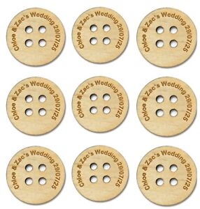 Personalised-Wedding-Favours-Table-Decorations-Scatter-Buttons-Wooden-Keepsake