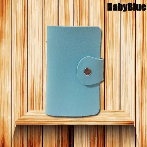NEW Leather Business ID Credit Card Holder Handbag Purse Storage Case Pocket