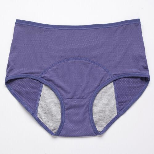 Women Menstrual Period Plus Size Physiological Panties Brief Underwear Leakproof