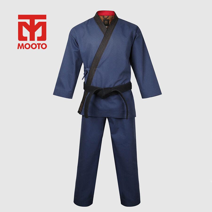 Mooto New Grand Master Taekwondo Uniform Dobok Gi Hangul Hapkido Dang Soo Do