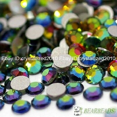 Multi-Colored Top Quality Czech Crystal Rhinestones FlatBack Nail Art Decoration