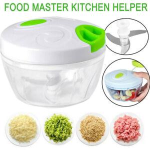 Cucina-CIPOLLA-VERDURE-CHOPPER-SPEEDY-Chopper-Frutta-Chop-Shredder-affettatrice-impostare-un