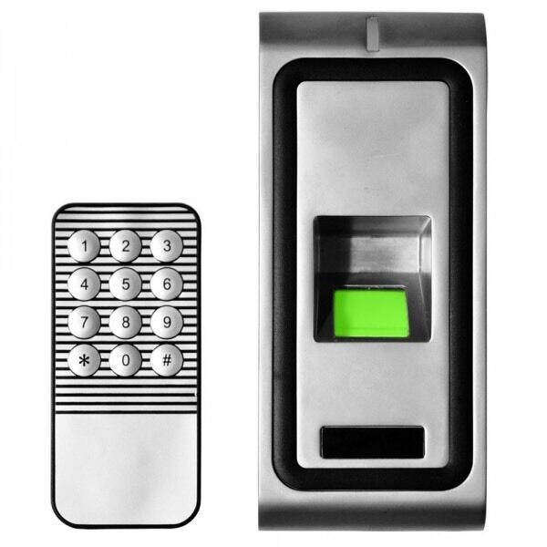 F102 Tarjeta de Identificación de Huellas digitales Impermeable De Metal Control De Acceso Wiegand 26 34 Lector