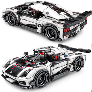 Custom-Agera-racecar-x-42056-42083-42111-Building-Blocks-Technic-Bricks-MOC