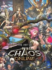 Chaos Online Art Book Game Character Korean Collection Illustration Authentic