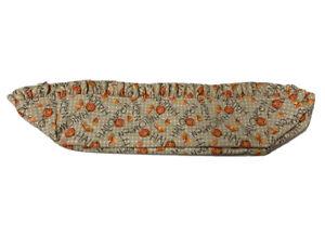Longaberger-Bread-Basket-Liner-Happy-Halloween-Candy-Corn-Jack-O-Lantern
