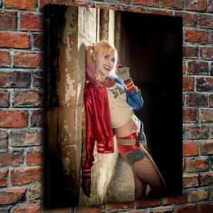 12x14Harley Quinn Suicide Squad HD Canvas prints